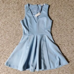 Lovers and Friends baby blue small dress